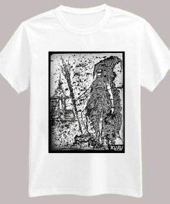 Old Sage Adembu T-Shirt White - Kuru Chronicles