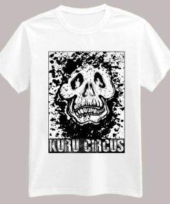 Kuru Skull T-Shirt White - Kuru Circus