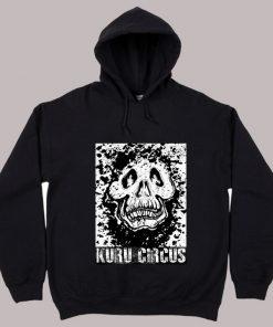 Kuru Skull Hoodie Black - Kuru Circus